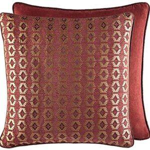 Two Croscill Estate Oakwood Euro Pillow Shams -New